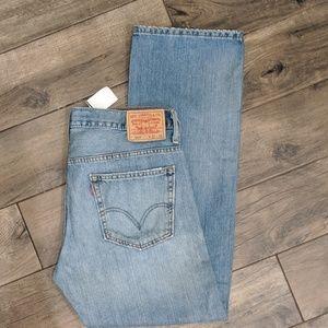 Levi's 569 32W x 32L vintage blue wash, NWOT